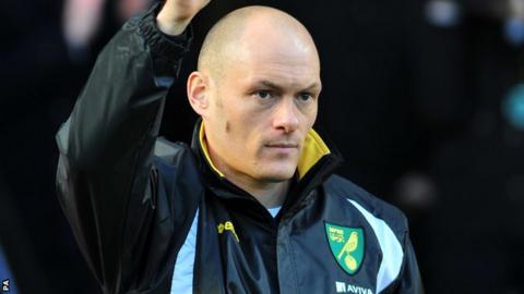 Norwich City boss Alex Neil