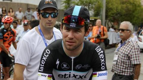 Mark Cavendish at the Tour de San Luis