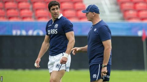 Kelly Brown has been left out of Vern Cotter's Scotland squad for the Six Nations