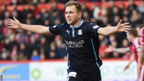 Dundee striker Greg Stewart