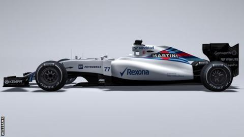 Williams F1 team's 2015 car