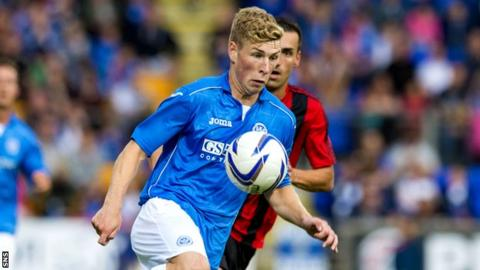 St Johnstone midfielder David Wotherspoon