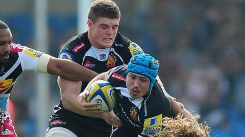 Dave Ewers and Jack Nowell