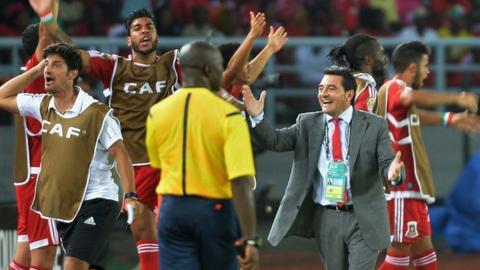 Equatorial Guinea coach Esteban Becker
