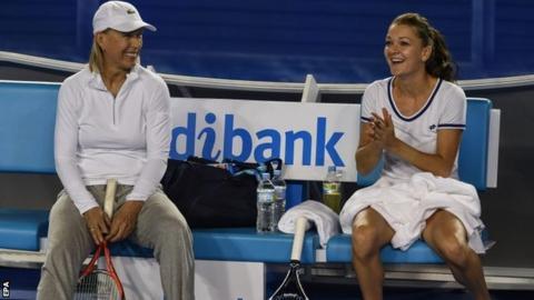 Martina Navratilova & Agnieszka Radwanska