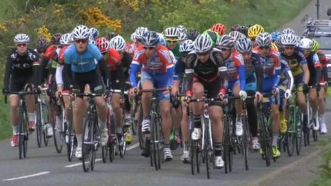 Isle of Man cycling youth tour