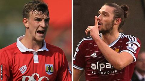 Aden Flint and Andy Carroll