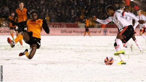 Wolves 3-3 Fulham. FA Cup third round replay