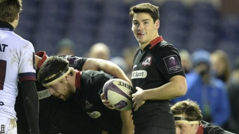 Sam Hidalgo-Clyne scored 28 of Edinburgh's 38 points