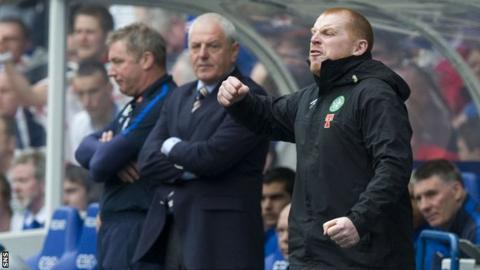 Ally McCoist, Walter Smith and Neil Lennon at Ibrox