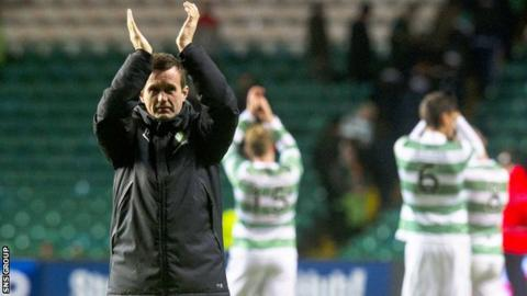 Celtic manager Ronny Deila has overseen a run of 14 wins from the last 16 domestic matches
