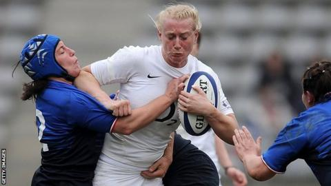 Tamara Taylor has played in three World Cups for England