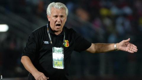 Mali coach Henri Kasperczak