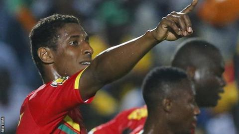 Guinea's Kevin Constant