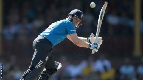 England one-day captain Eoin Morgan