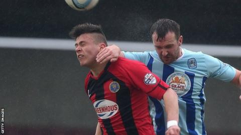 Miles Storey has previously been on loan at Shrewsbury