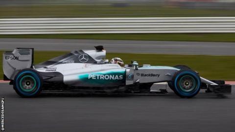 F1 W06 Hybrid from Mercedes