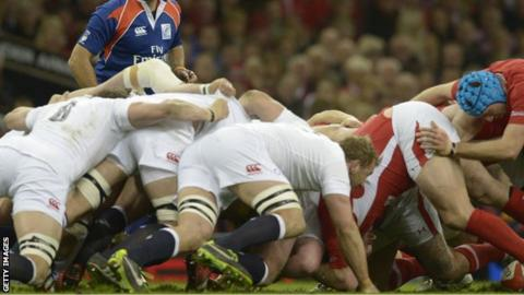 The scrum will again be a key area when Wales meet England in the Six Nations
