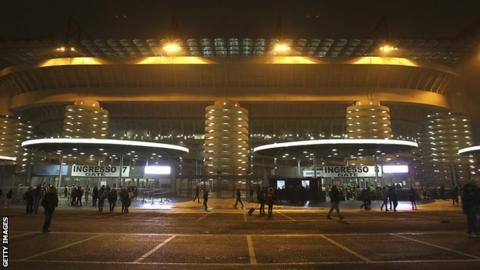 The San Siro Stadium, Milan