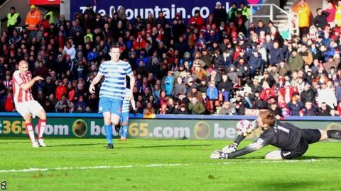 Stoke striker Jon Walters