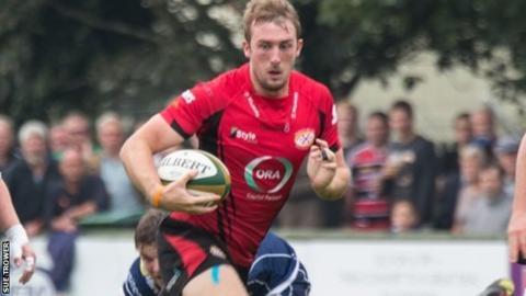 Mark McCrea in previous action