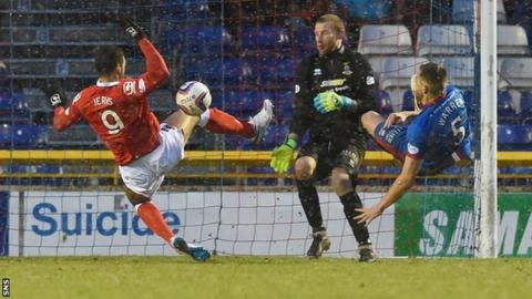 Ross County's equaliser was not the most clear-cut of strikes