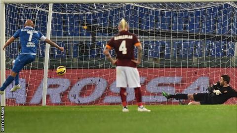 Empoli striker Massimo Maccarone