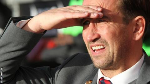 Justin Edinburgh took Newport back into the Football League in 2013