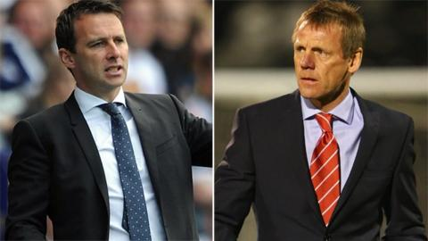 Dougie Freedman and Stuart Pearce