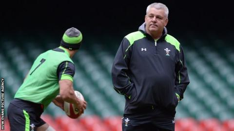 Warren Gatland coached Wales to a 30-3 win the last time England came to Cardiff