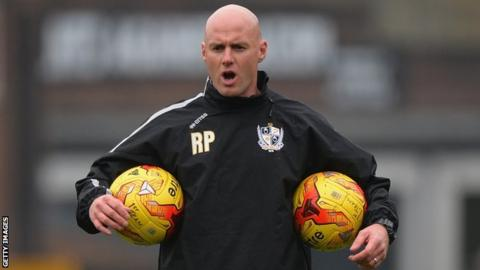 Port Vale manager Rob Page