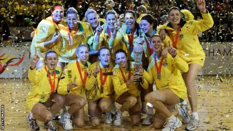 Australia win the 2011 World Netball Championships