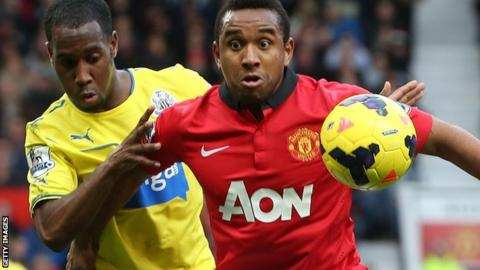 Anderson, who has left Manchester United for Internacional