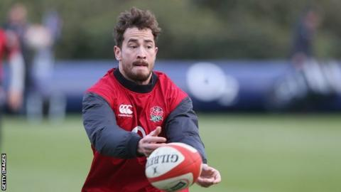 England fly-half Danny Cipriani