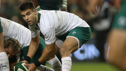 Conor Murray in action against South Africa in November