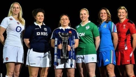 Women's Six Nations captains