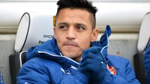 Arsenal's Alexis Sanchez