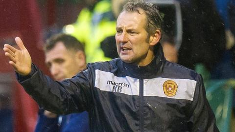 Kenny Black had been Motherwell assistant manager since 2011