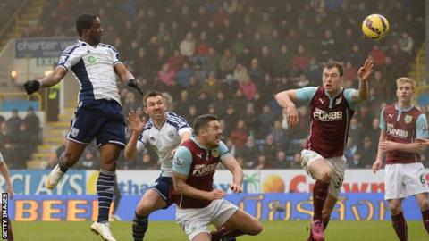 Brown Ideye heads in West Brom's equaliser