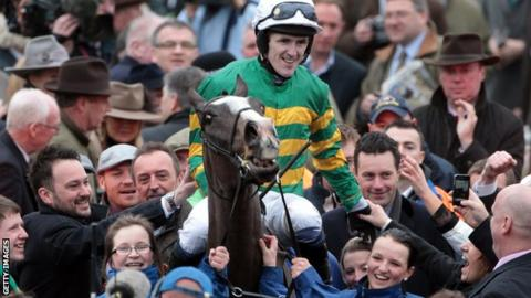 AP McCoy on Synchronised in 2012.