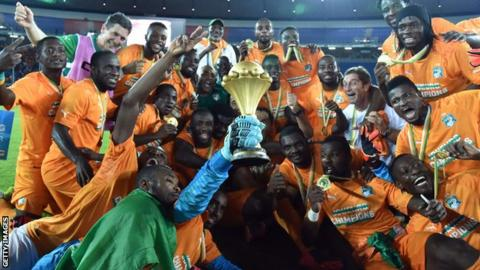 Ivory Coast players