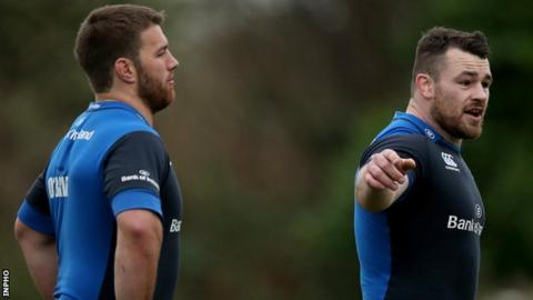 Sean O'Brien and Cian Healy