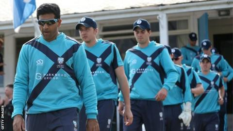 Majid Haq (left) is Scotland's most capped player