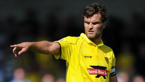 Ian Sharps, first signed on loan for AFC Telford United from Burton Albion in February