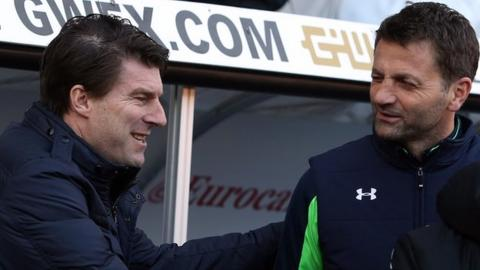 Michael Laudrup and Tim Sherwood