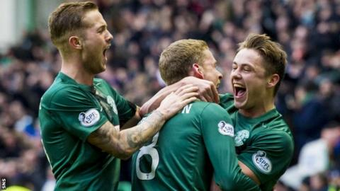 Hibernian have defeated Rangers home and away this season.