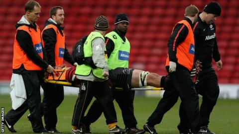 Concussion English rugby