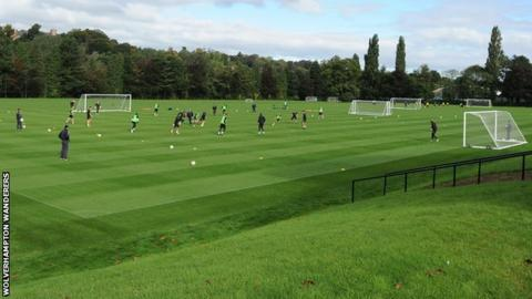 Compton Park, Wolves training ground