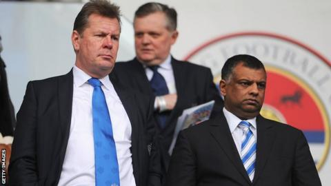 Philip Beard and Tony Fernandes