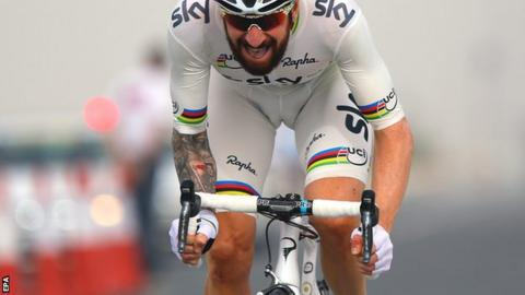 Sir Bradley Wiggins at Tour of Qatar